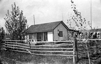 The Tidds′ home in Mayo. 1933