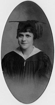 Mary, the graduate. ca. 1915