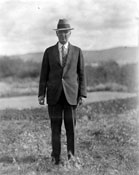 """The Hon. Mr. George Black. Taken here last week"" 1932"